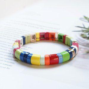 Roxanne Assoulin Fruit Stripe Bracelet Half Pipe
